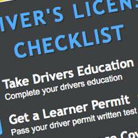 WV New License Checklist