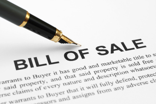 747 What Is a Bill of Sale?