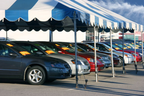 Car Dealership Tent Sale
