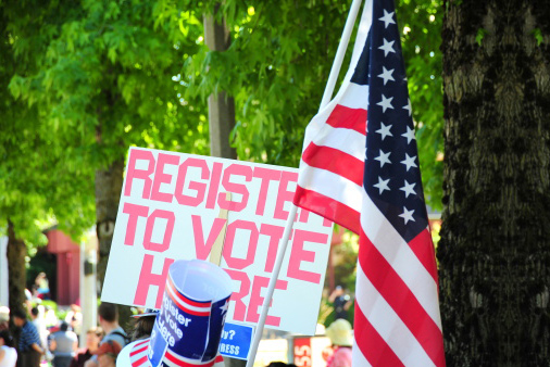 Voter Registration Rally
