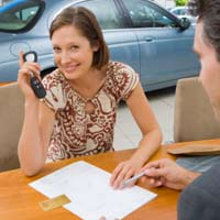 Washington DC Bill of Sale Form for Motor Vehicles