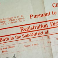 ID Documents & Vital Records