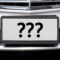 License Plate FAQs
