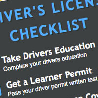 Drivers License Checklist For Teens and New Drivers