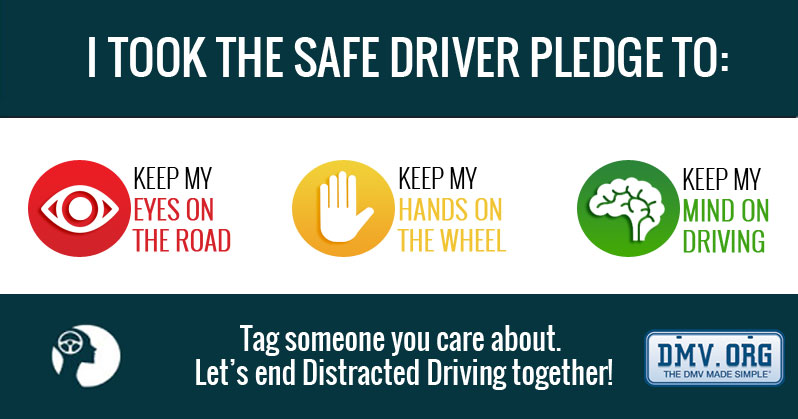 Pledge to End Distracted Driving