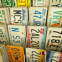 MT Types of Special License Plates