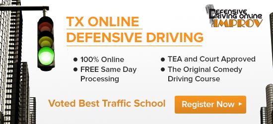 Defensive Driving in Texas: http://www.dmv.org/tx-texas/defensive-driving.php